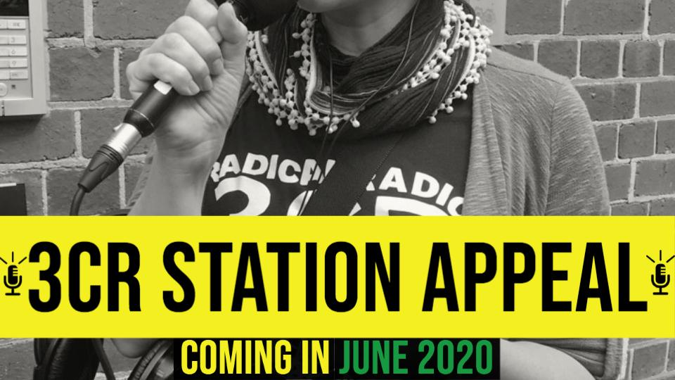 3CR Station Appeal in coming