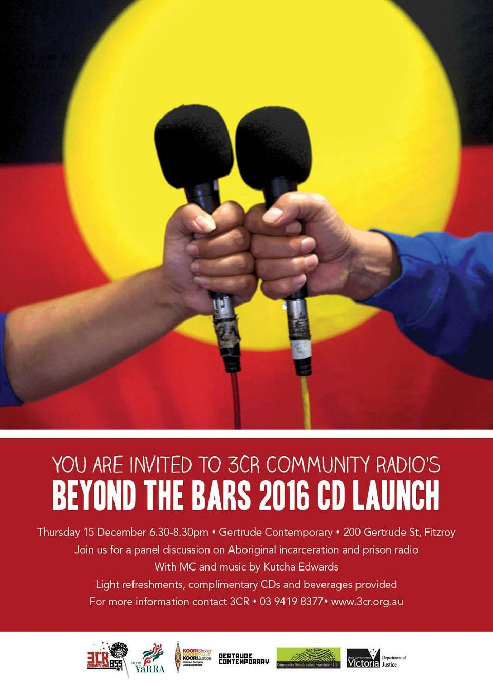 Beyond the Bars CD Launch 2016
