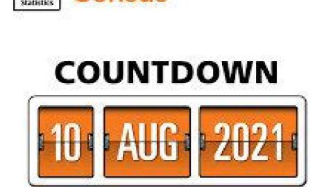 countdown 10 Aug 2021 to Census