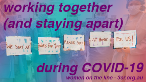Working together (and staying apart) during COVID-19