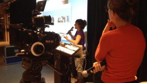 Film Fatales cinematography workshop. Image credit: Anna Helme