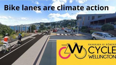 Image credit: Paihikara ki Pōneke - Cycle Wellington