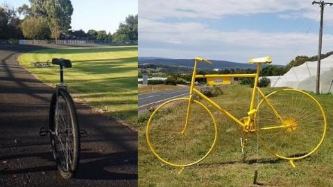 100km unicycle challenge + Tumut Batlow Rail Trail Project