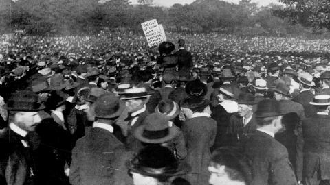 Great train strike 1917 Sydney