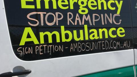 SA Ambulance Employees Association Campaign
