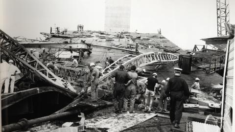 West Gate Bridge Disaster Melb 1970