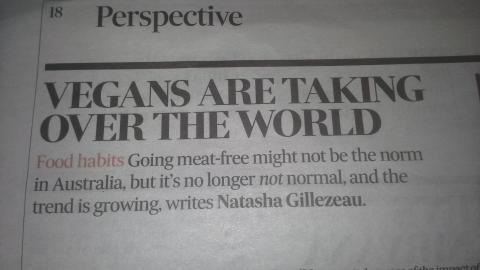 Vegans Are Taking Over The World