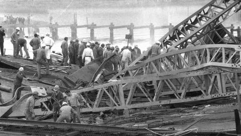 Westgate Bridge Collapse image