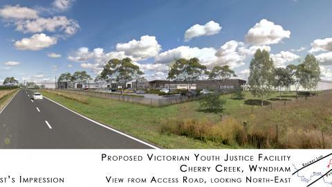 Cherry Creek Prison - Proposed site