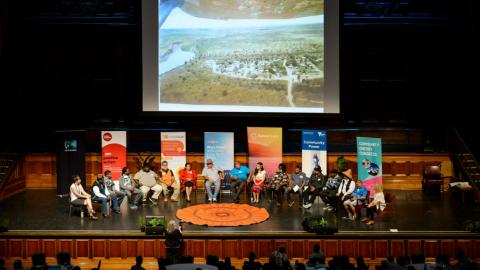 The opening plenary of the Coalition for Community Energy congress