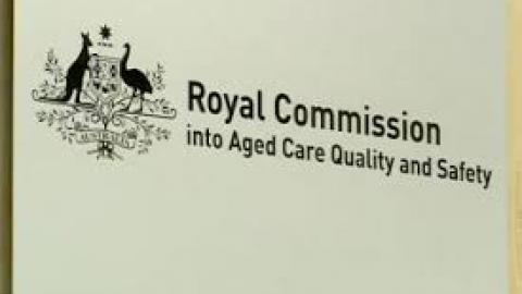 Logo of the Royal Commision into Aged Care Quality and Safety