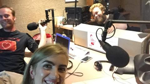 Nev from High Alert joins Nick and Ash in the studio