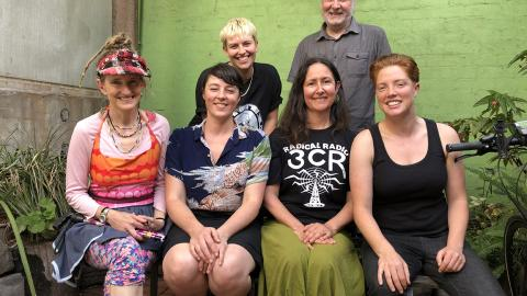 45 Years of FoE - some of the folks from Friends of the Earth & 3CR