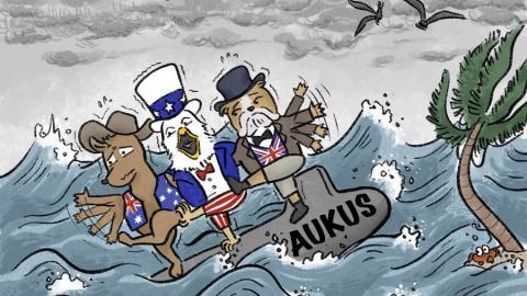 Cartoon Credit: Xinhuanet.com