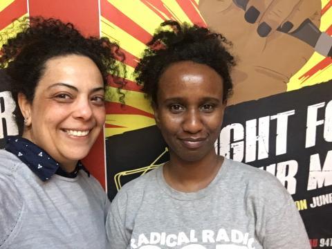 Jiselle Hanna & Ayan Shirwa