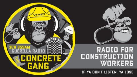 The Concrete Gang, 9.30am Sundays