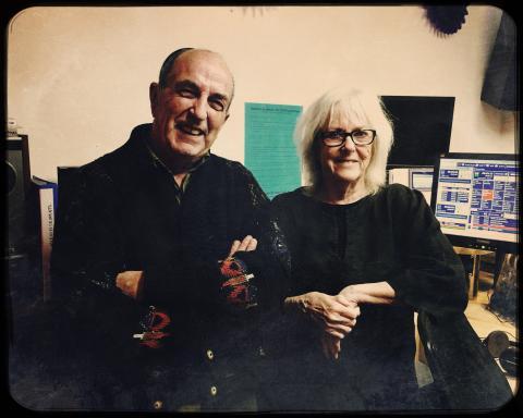 Presenters Chris Gaffney and Irene Bolger.