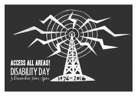Disability Day 3 December 7am - 7pm