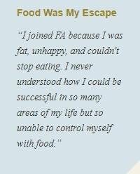 Food Addicts in Recovery Anonymous - Quote