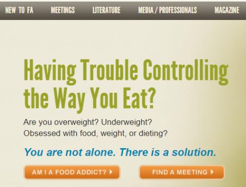 FA Website https://www.foodaddicts.org/