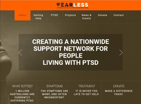 FearLess - Helping people with PTSD