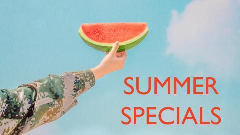 Summer specials 2019-2020
