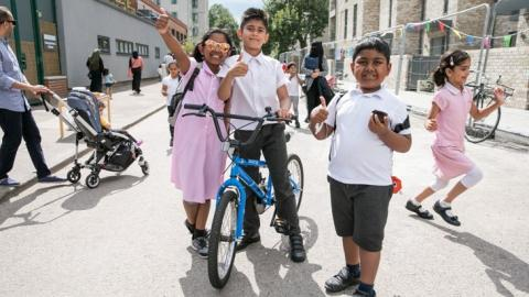 """The Healthy Streets Approach puts people and their health at the centre of decisions about design, management and use of public spaces"" Image credit: Sustrans"