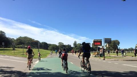 Image from Change.org petition: #SpaceForHealth, a call for safer walking & cycling space in Australia NOW!