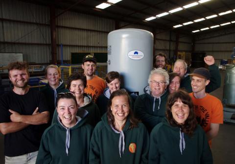 Earthworker Cooperative Factory Crew
