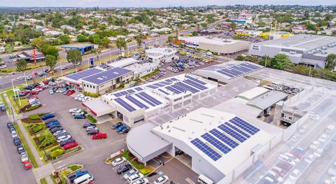 Commercial rooftop Solar Planet Ark Power