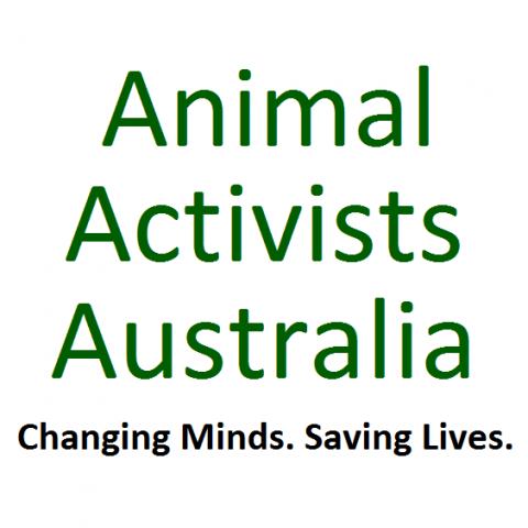 Animal Activists Australia Logo