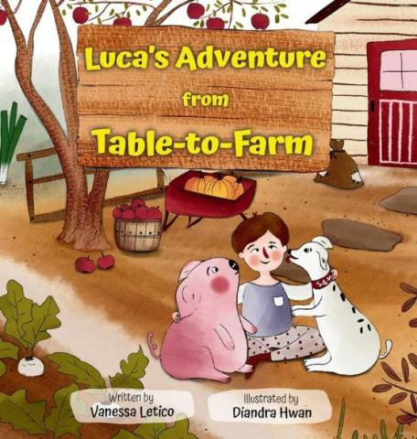 Book cover of Luca's Adventure from Table-to-Farm