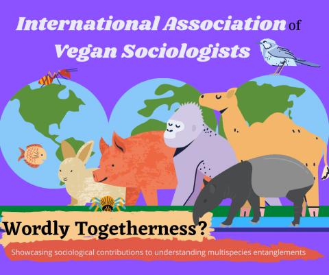 Poster for the International Association of Vegan Sociologists