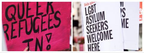 Queer refugees and asylum seekers welcome