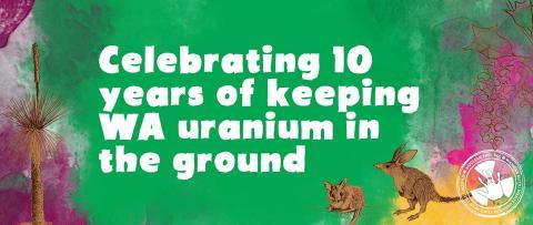 10 years NO URANIUM