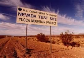 Yucca Mountain site