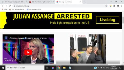 Julian Assange Trial - Courage Foundation Coverage