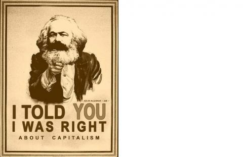 Marx - told you so