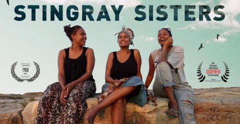 Stringray Sisters documentary poster, photo courtesy Katrina Channells