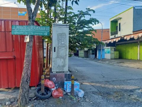 Pioneer Of Freedom Street IV housing hundreds of refugees in Makassar City, Indonesia. Photo courtesy of Alfred Pek