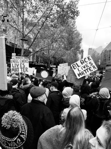 Black Lives Matter courtesy Kon Karampelas Unsplash