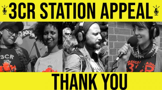 Thank you for supporting the 3CR Station Appeal
