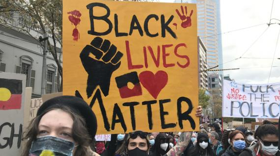 Blak Lives Matter rally 6 June 2020