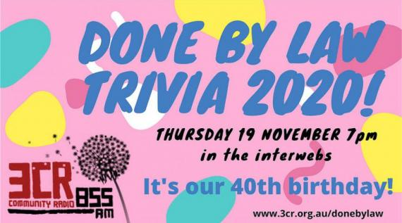 Done by Law trivia night 2020 Thursday 19 November