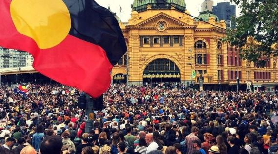 Invasion Day rally Melbourne