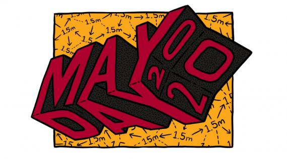 May Day 2020 Artwork by Sam Wallman