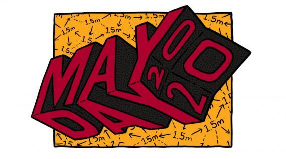May Day 2020 Artwork by Sam Wallman