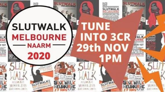 Slutwalk Melbourne 29 November 1pm broadcast
