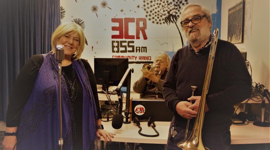 The Swing 'n' Sway team at the 3CR Studio
