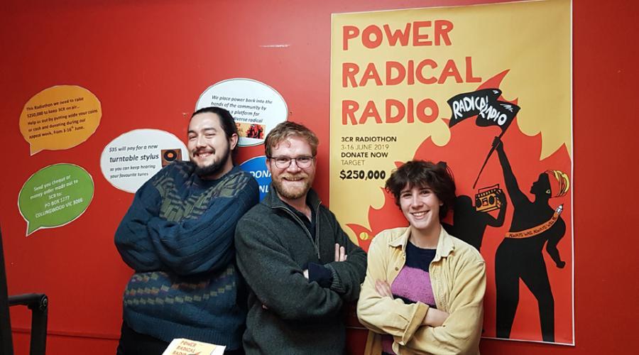 Will, Rob and Eiddwen